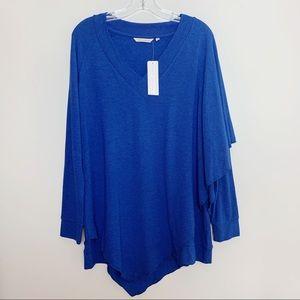 Soft Surroundings   Madeline Tunic Medium Blue